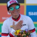 Kateřina Nash vede světový pohár cyklokrosařek i po písečném Koksijde