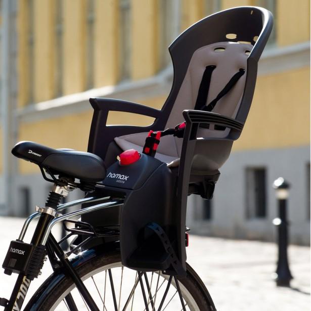 Mojekolo.cz nabízí sedačku Hamax-Siesta, která má vlastní odpružení a jízda je pro dítě ještě pohodlnější