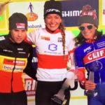 Katka Nash třetí v celkovém pořadí SP v cyklokrosu. Finalový závod vyhrála Marianne Vos.