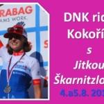 Akce: DNK ride Kokořín s Jitkou Škarnitzlovou