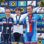 Barbora Průdková veze bronz z ME ve sprintech