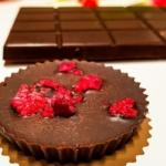 Zamilovaný recept: Čokoládová Valentýnka s malinami
